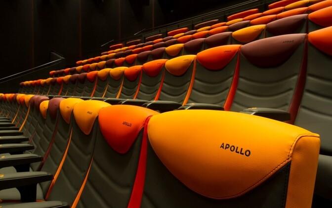 Кинотеатр Apollo в Мустамяе.