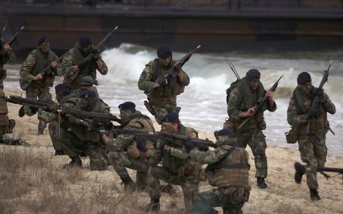 NATO sõdurid.