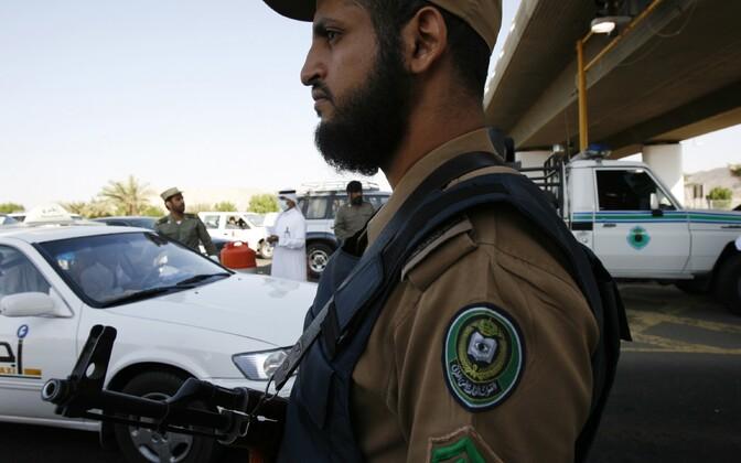 Saudi Araabia politsei.
