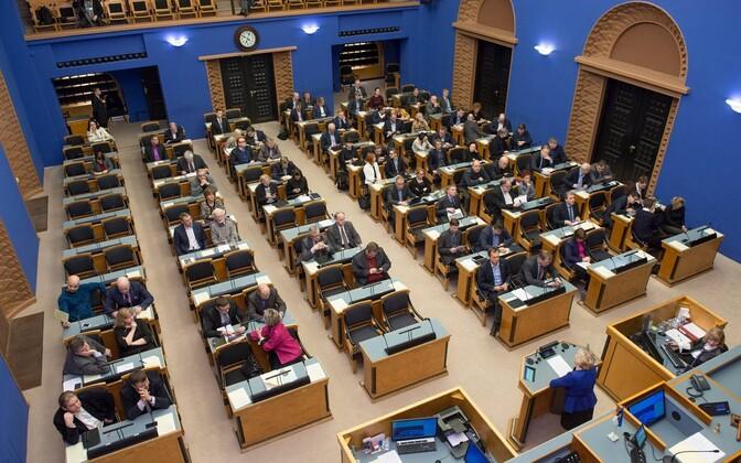 Session Hall of the Riigikogu.