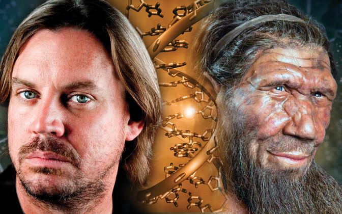Nüüdisinimene ja neandertaallane.