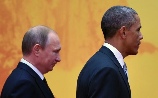 Владимир Обама и Барак Путин | Пикабу | 420x672