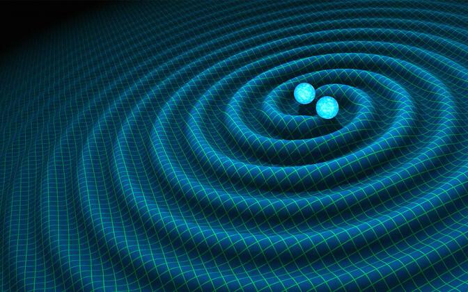 Gravitatsioonilained kunstniku nägemuses.