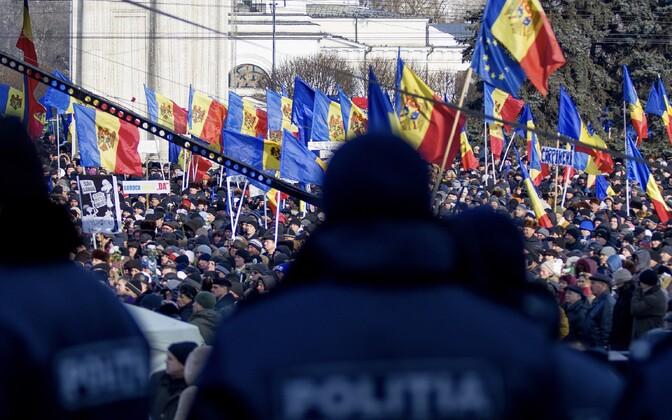 Meeleavaldus Chisinaus 24. jaanuaril