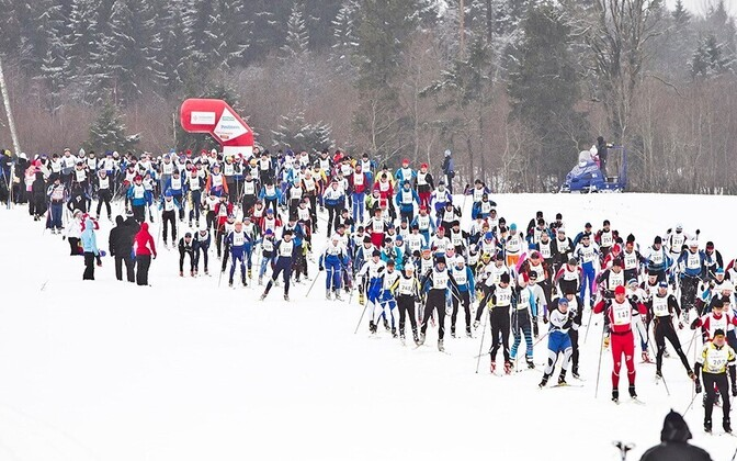 Tamsalu-Neeruti maratoni start