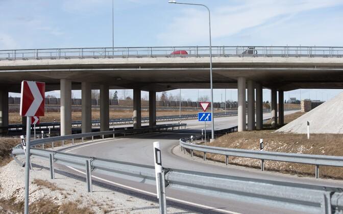 Mäo liiklussõlm on üks paljudest EL-i toetusraha abil rajatud objektidest.