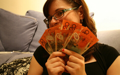 Austraalia dollarid.