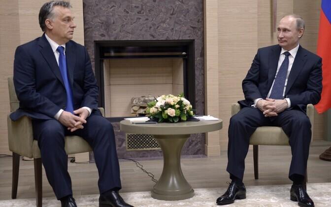 Orban ja Putin täna Moskvas