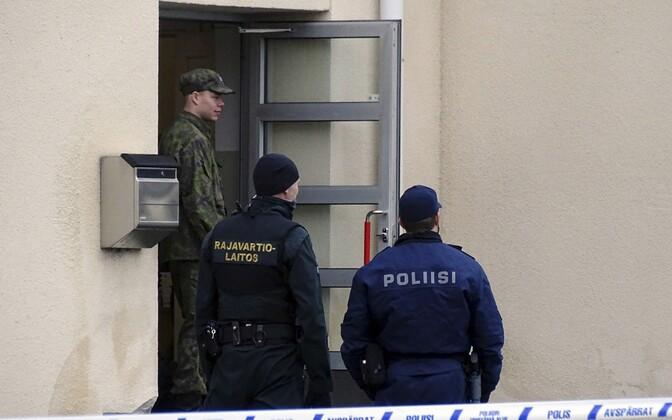 Soome sõjaväelane, piirivalvur ja politseinik.