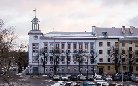Городская управа Нарвы. Иллюстративное фото.