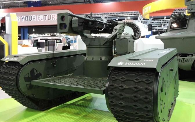 Боевой робот-трансформер.