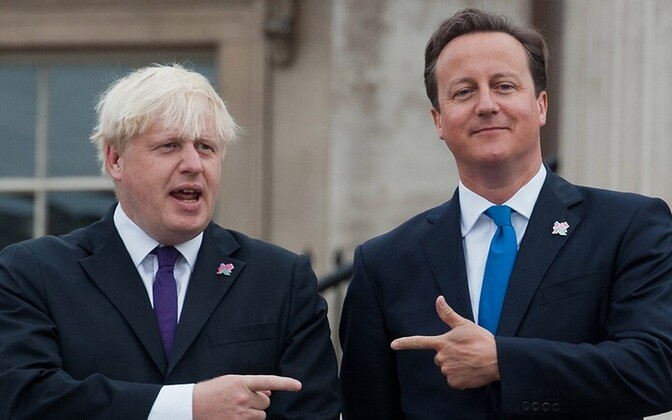 Boris Johnson ja David Cameron.
