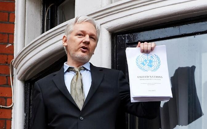Julian Assange ÜRO töörühma otsusega.