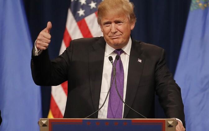 Donald Trump võitis USA vabariiklaste presidendikandidaadi eelvalimised Nevada osariigis.
