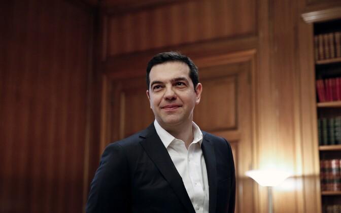 Kreeka peaminister Alexis Tsipras.
