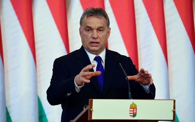 Ungari peaminister Victor Orban.