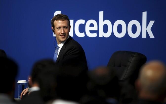 Facebooki juht ja suuromanik Mark Zuckerberg.