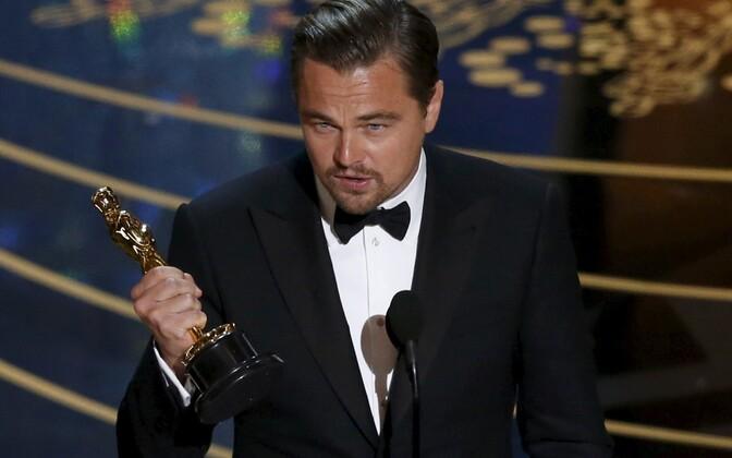 Parima meespeaosa Oscari pälvis tänavu Leonardo DiCaprio.
