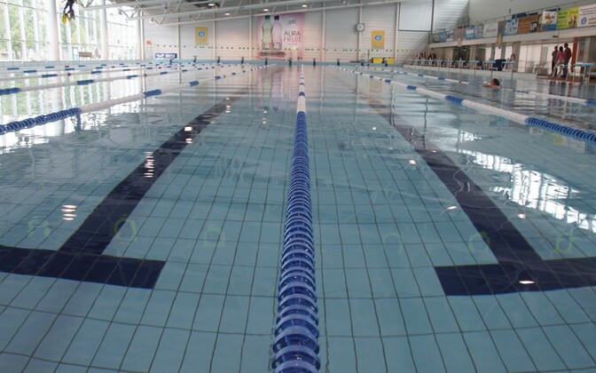 A multi-lane swimming pool in Tartu. Photo is illustrative.