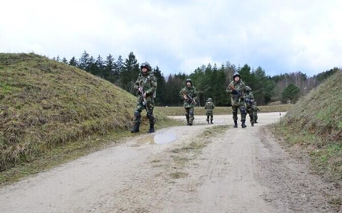 Moldova sõdurid Saksamaal toimunud õppusel