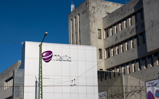 Представительство Telia в Таллинне. Иллюстративная фотография.