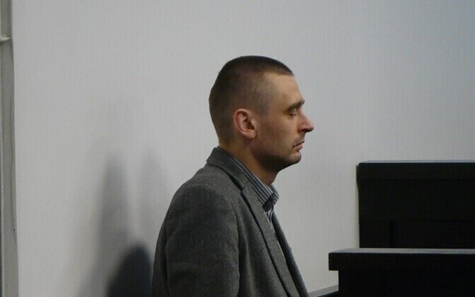 Меэлис Рохт в зале суда.