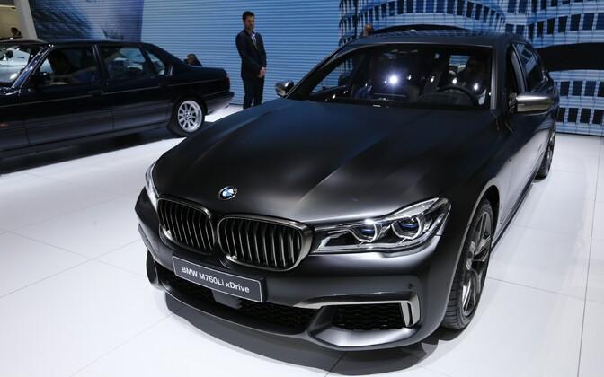 BMW luksusauto M760Li xDrive. Foto on illustratiivne.