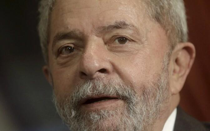 Brasiilia endine president Luiz Inacio Lula da Silva.