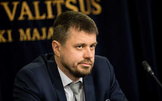 Minister of Justice Urmas Reinsalu (IRL).