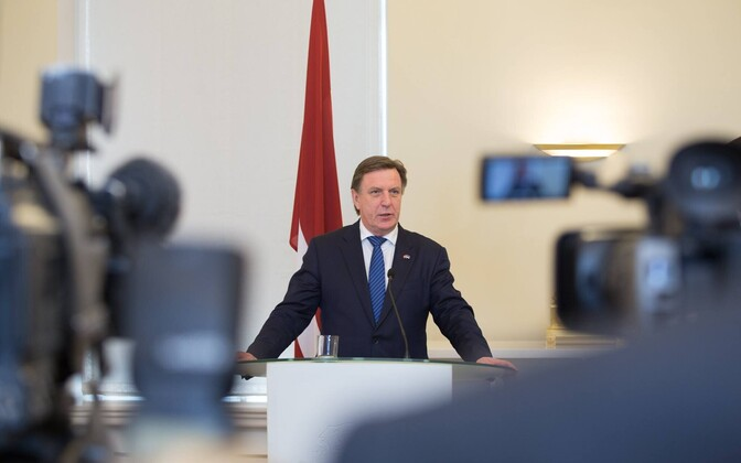 Läti peaminister Maris Kućinskis.