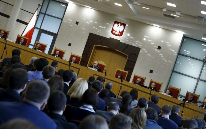 Poola konstitutsioonikohtu kohtunikud.