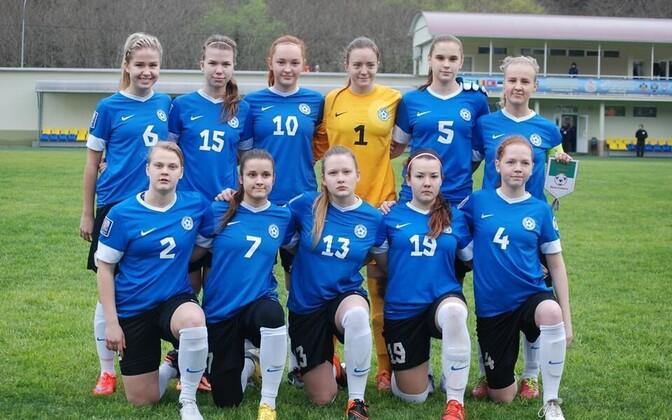 Eesti U-19 naiste jalgpallikoondis