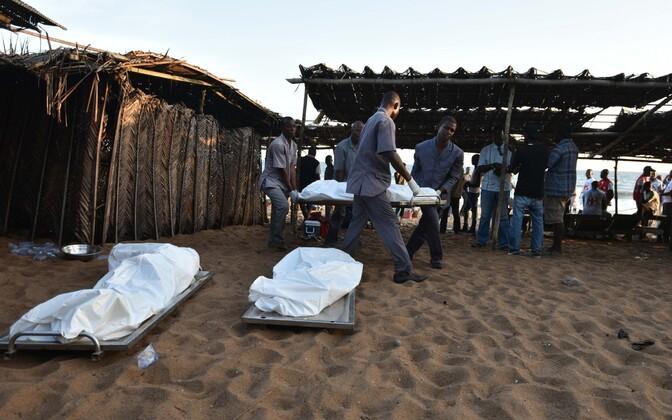 Grand Bassami kuurordis hukkus vähemalt 16 inimest.