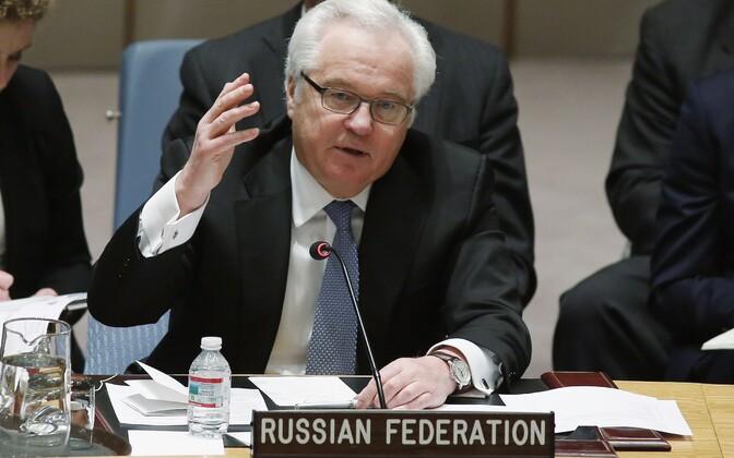 Venemaa suursaadik ÜRO juures Vitali Tšurkin