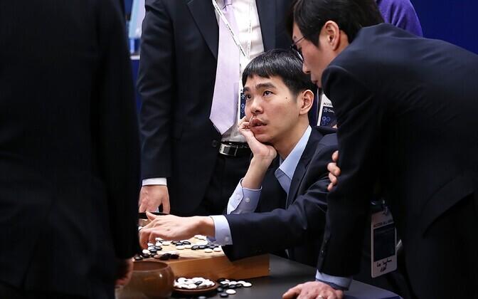 Lee Sedol pärast kohtumist.