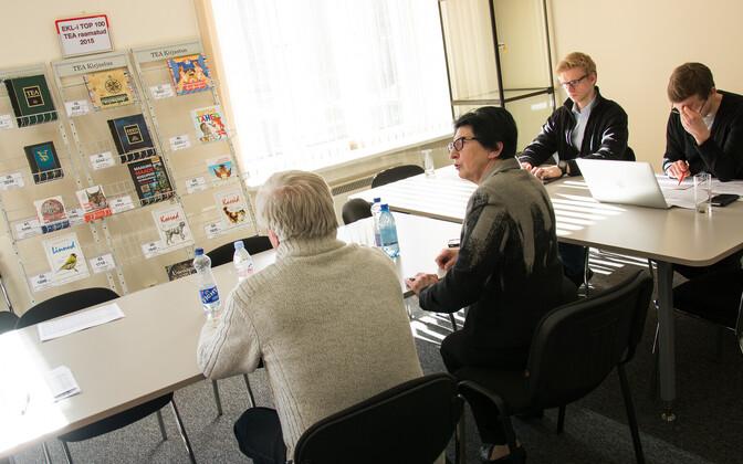 TEA kirjastuse kohtumine saneerimisnõustajatega 17. märtsil.