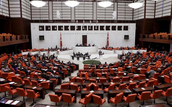 Türgi parlament.