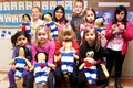 Children at the Lakewood Estonian School made their own