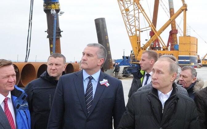 Venemaa president Vladimir Putin 2016. aasta 18. märtsil Krimmis