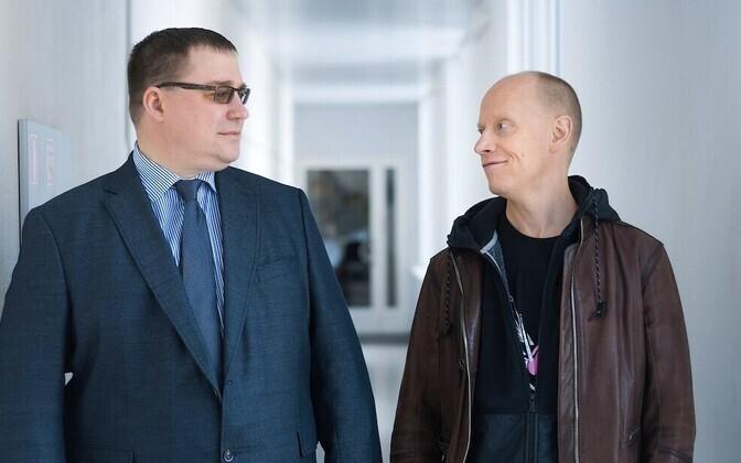Andrus Karnau ja Ahto Lobjakas