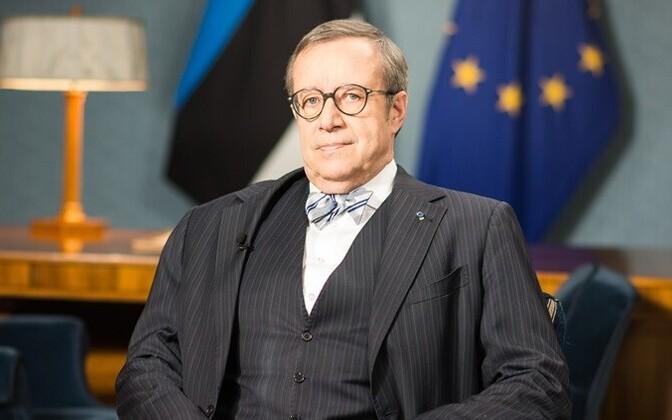 Президент Эстонии Тоомас Хендрик Ильвес.