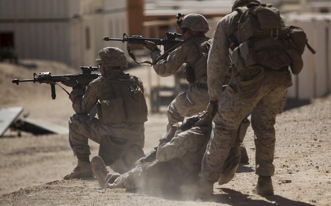 USA merejalaväelased.
