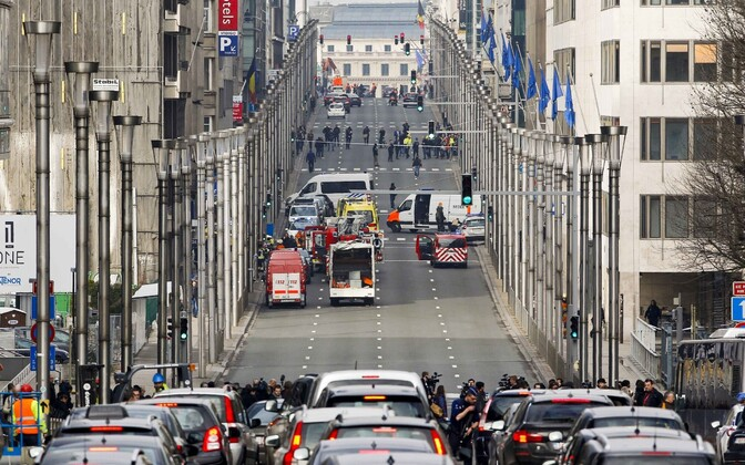 Brussels is on the highest level of alert after explosions in Brussels Airport and a metro station.
