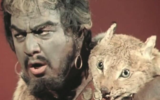 Nõukogude bariton Pavel Lisitsian Aida isa, Amonasro rollis