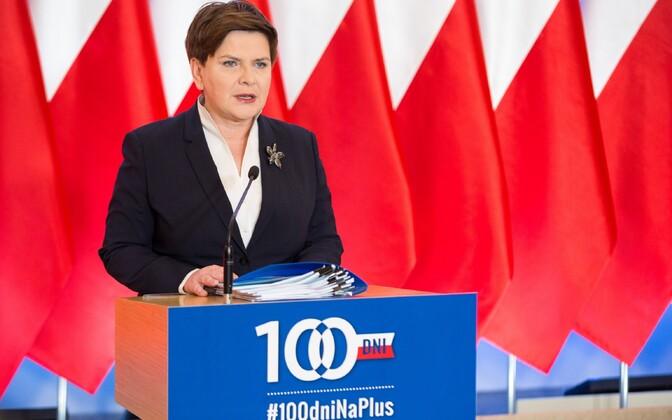 Poola peaminister Beata Szydlo.