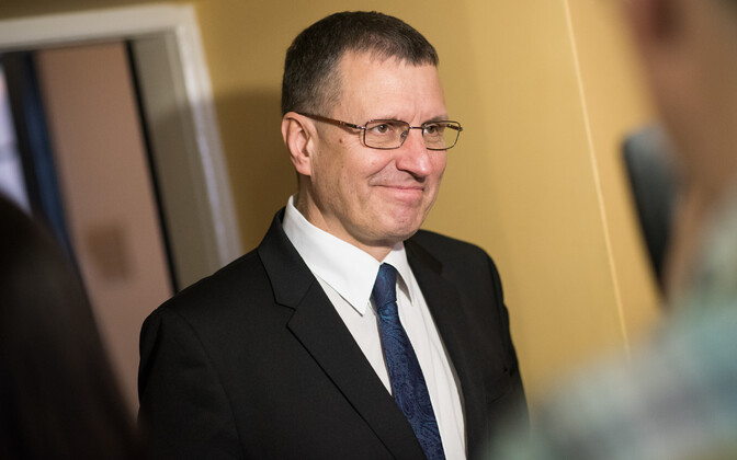 Chairman of the Riigikogu's EU Affairs Committee Toomas Vitsut (Centre).