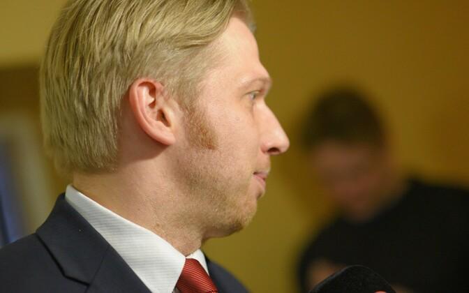 Center Party Deputy Chairman Jaanus Karilaid.