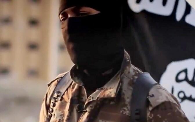 Rühmituse ISIS võitleja. Illustreeriv foto.