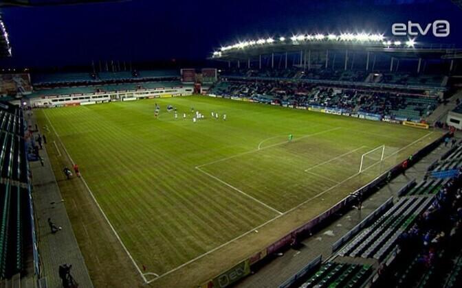 Eesti mängis aasta esimeses kodumängus Norraga väravateta viiki.