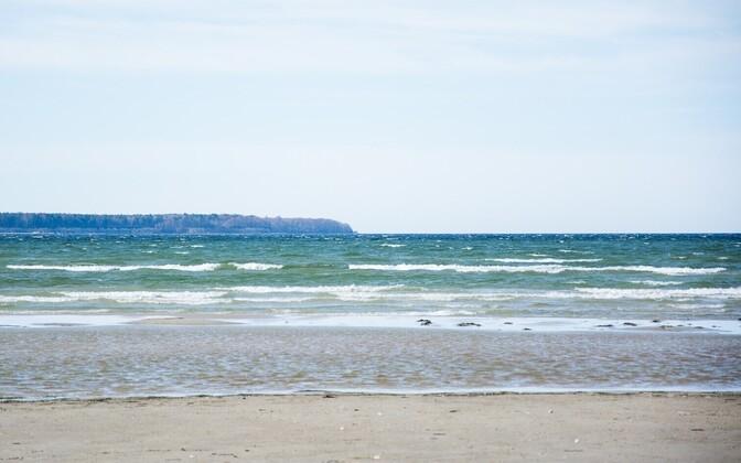 Столичный пляж Штромка.